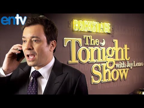 Jimmy Fallon and Jay Leno Confirm Tonight Show Takeover - ENTV