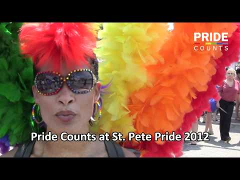 Pride Counts at St. Pete Pride Parade 2012