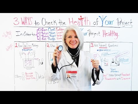 3 Ways to Keep Your Project Healthy Video