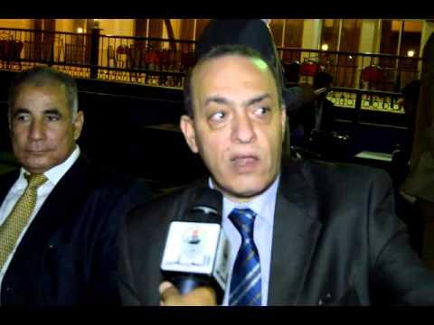 حوار خاص مع هشام لطفى عقب حفل افتتاح نادى المحامين بالمعادى