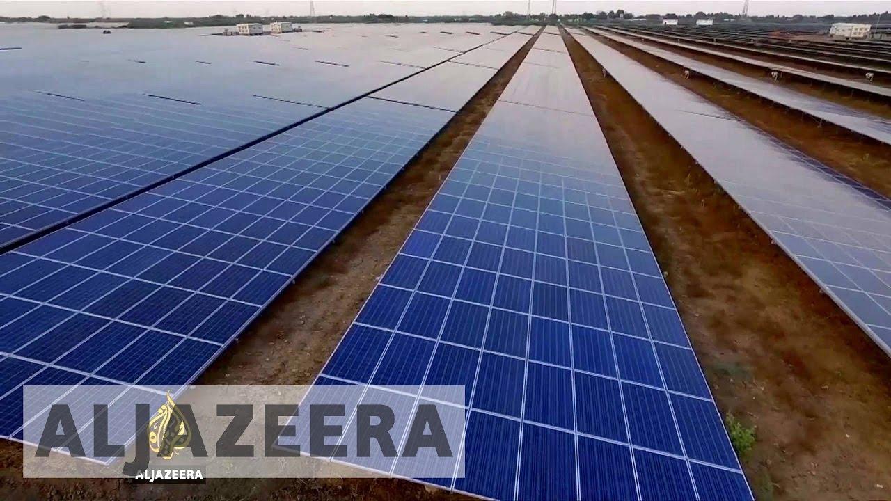 В Индии завершилось строительство крупнейшей в мире солнечной электростанции