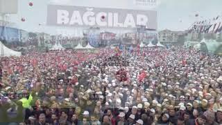 Cumhurbaşkanımız Recep Tayyip Erdoğanla, Bağcılar'da 36 Tesis açılışı