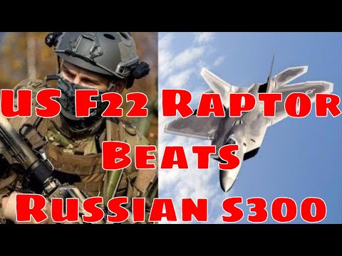 US Strikes Iranian Targets In Syria - BEATS S300 System - F22 Raptor