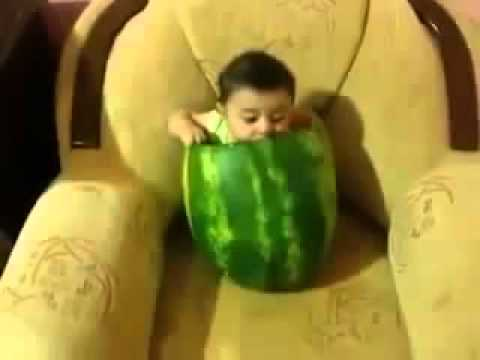 winlip2 - Baby Eating Watermelon From Inside. Comment, Like, Share this video everywhere & do SUBSCRIBE to my channel for more.  Facebook: http://www.facebook.com/Vir...