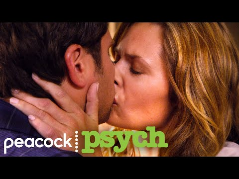 Shawn and Juliet's First Kiss | Psych