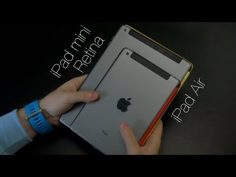 From ipad mini to ipad air фотка