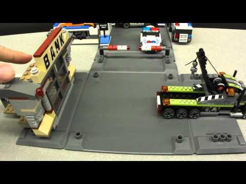 Vidéo LEGO Racers 8211 : L'attaque de la banque