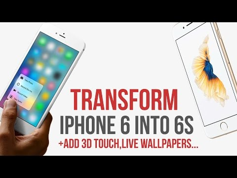 Download Transform IPhone 6 into 6s / add 3D Touch / Live