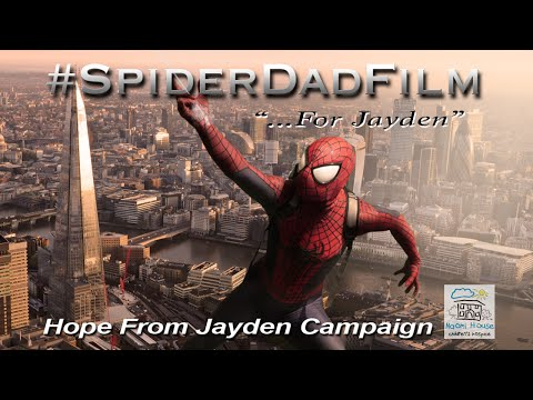 The Amazing SpiderDad Dad Create Beautiful SpiderMan Fan Film for Late
