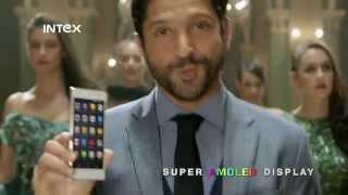 Intex Aqua Ace TV Commercial with Farhan Akhtar