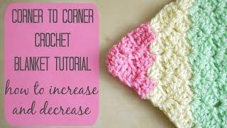 Video CROCHET: How to crochet the corner to corner 'C2C' blanket | Bella Coco MP3, 3GP, MP4, WEBM, AVI, FLV Juli 2018