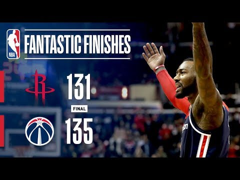 Video: The Washington Wizards Rally Back To Defeat The Houston Rockets | November 26, 2018
