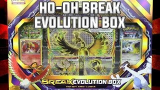 Pokémon Cards - Ho-oh and Lugia BREAK Evolution Box Opening Battle Vs. Escape Rope! by The Pokémon Evolutionaries