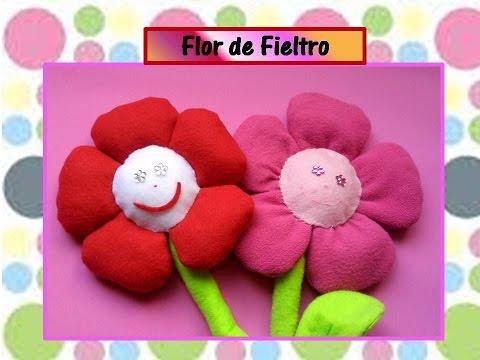 teneri fiorellini in feltro - ecco come farli