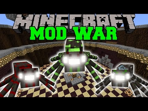 WAR OF THE SPIDERS – Minecraft Mod War Battle – Mods