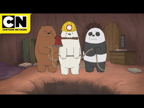 We Bare Bears | The Secret Tunnels | Cartoon Network
