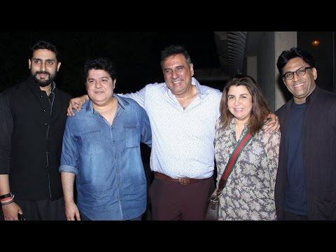 Abhishek Bachchan Snapped With Boman Irani And His
