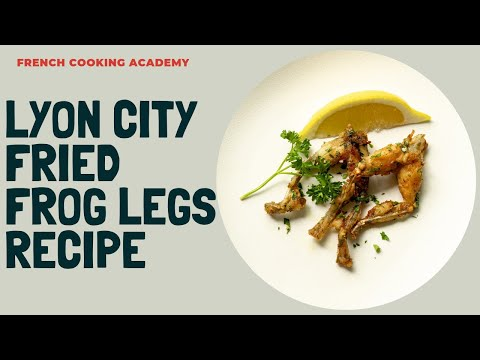 Lyon Style Frog Legs Step By Step | Cooking Tutorial