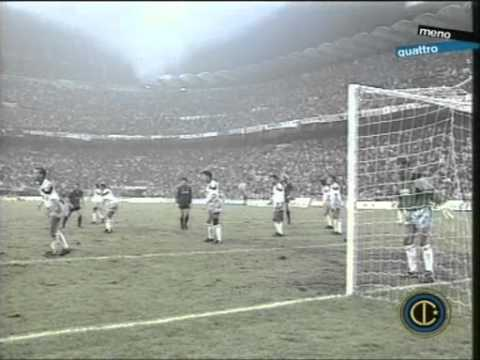 1990-1991 coppa uefa - rimonta inter vs aston villa 3-0