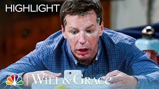 Jack Uses Too Much Numbing Cream - Will & Grace (Episode Highlight)