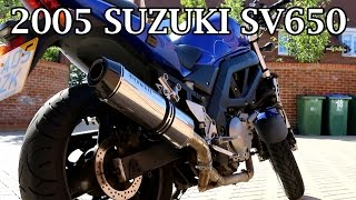 1. 2005 Suzuki SV650 - Motorcycle Review