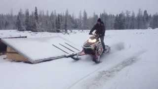 9. First Snow RMK Assault 155 2012 Jaws Can Race