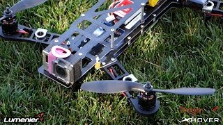 QAV-400 quadcopter 2nd Build Video with DJI NAZA LITE and Dragon Link
