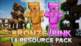 AciDic BliTzz BRONZE & PINK EDIT Texture Pack (1.8 Resource Pack)