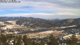 2014-02-17 - Estes Park Prospect Mountain Two Time-Lapse