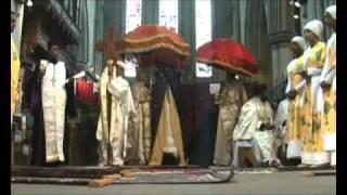 Ethiopian Orthodox Tewahedo Medhani Alem Church In Leeds England   Part 2