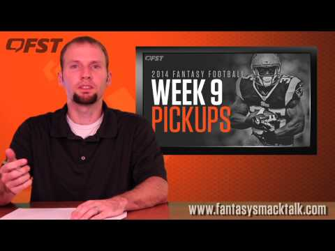 Fantasy Football: Top Waiver Wire Pickups for Week 9 thumbnail