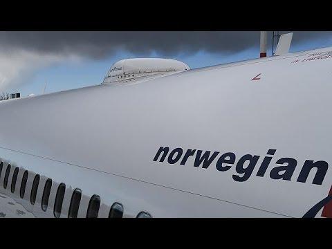 Ευρώπη – Αμερική με 60 ευρώ υπόσχεται νορβηγικός αερομεταφορέας – economy