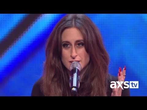 Raign sings her own song called Dont Let Me Go | The X Factor UK on AXS TV