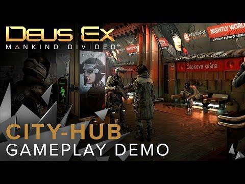 Adam Jensen w Pradze, czyli 17 minut rozgrywki z gry Deus Ex: Rozłam Ludzkości