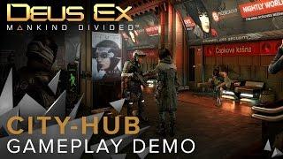 Città-hub gameplay