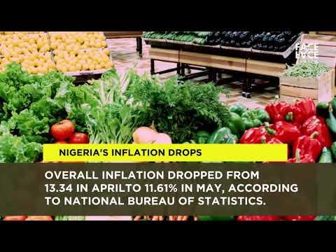 Нигеря'с инфлатён дропс то ловест ин море зан тво иеарс ин Mаи - Африка Тодаи