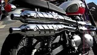 7. 2006 Triumph Scrambler 900 w/ TOR at idle