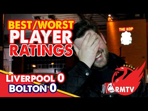 4th - Paul picks out his Best and Worst men of the match from Liverpool's 0-0 draw with Bolton Wanderers in the FA Cup 4th Round at Anfield... The Redmen TV is Uncensored LFC Television... Buy...