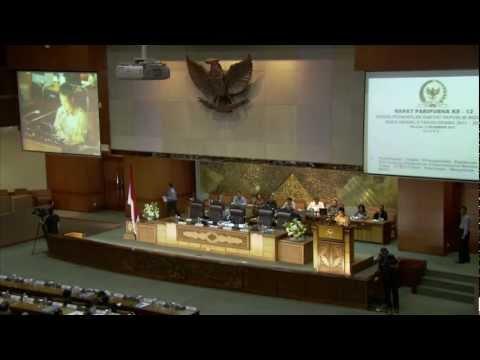 Indonesia ratifies the CTBT