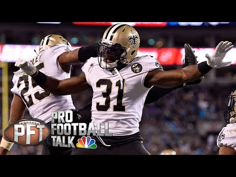 Video: Defense leading Saints in quest for NFC's No. 1 seed | Pro Football Talk | NBC Sports