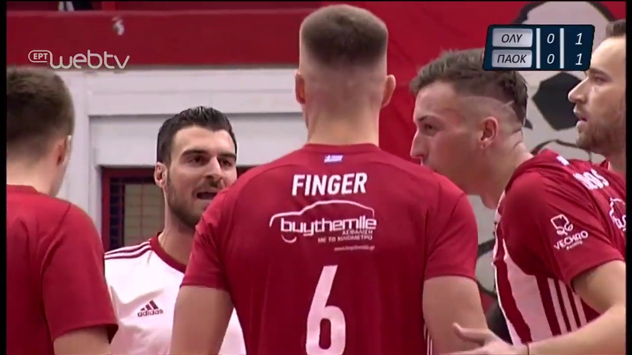 Volley League Cup: ΟΛΥΜΠΙΑΚΟΣ – ΠΑΟΚ | HIGHLIGHTS | 21/11/2019 | ΕΡΤ
