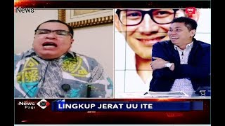 Video Jeratan UU ITE untuk Andi Arif dan Tengku Zulkarnain - iNews Pagi 07/01 MP3, 3GP, MP4, WEBM, AVI, FLV Januari 2019
