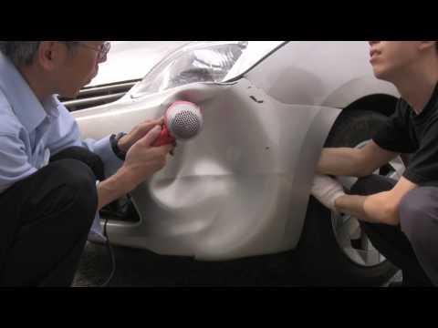 汽車凹了怎麼辦?只要你有吹風機就能自己修理!