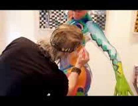 Pintando cuerpos desnudos