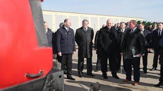 Лукашенко посетил сельхозпредприятие