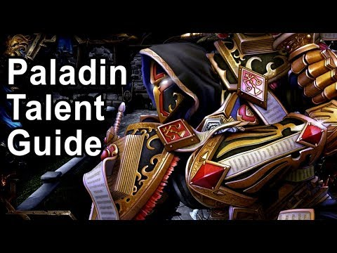 BFA Retribution Paladin PVP Talent Guide 8.0