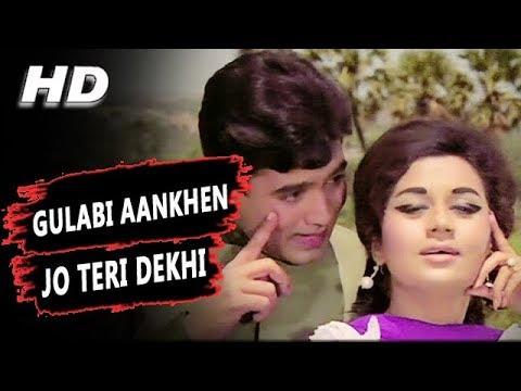 Video Gulabi Aankhen Jo Teri Dekhi (Original Version) Mohammed Rafi | The Train 1970 Songs | Rajesh Khanna download in MP3, 3GP, MP4, WEBM, AVI, FLV January 2017