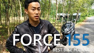 Download Lagu New Yamaha Force 155 Review. Best Scooter in Taiwan for 2017? 山葉機車 Force 155 用英文評論 Mp3