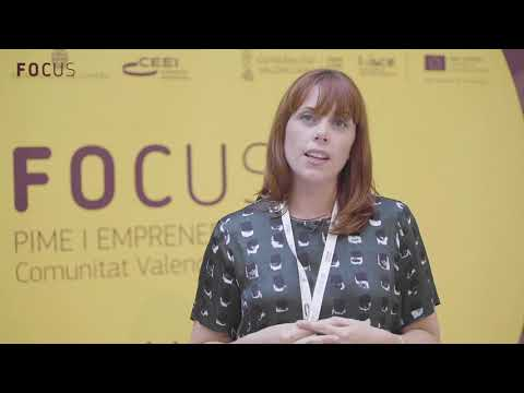 Cinta Massó Díaz en Focus Pyme y Emprendimiento Comunitat Valenciana 2018