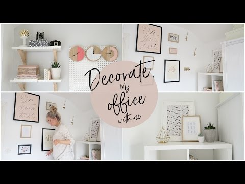 Decorate My Office With Me! | Kate Murnane (видео)